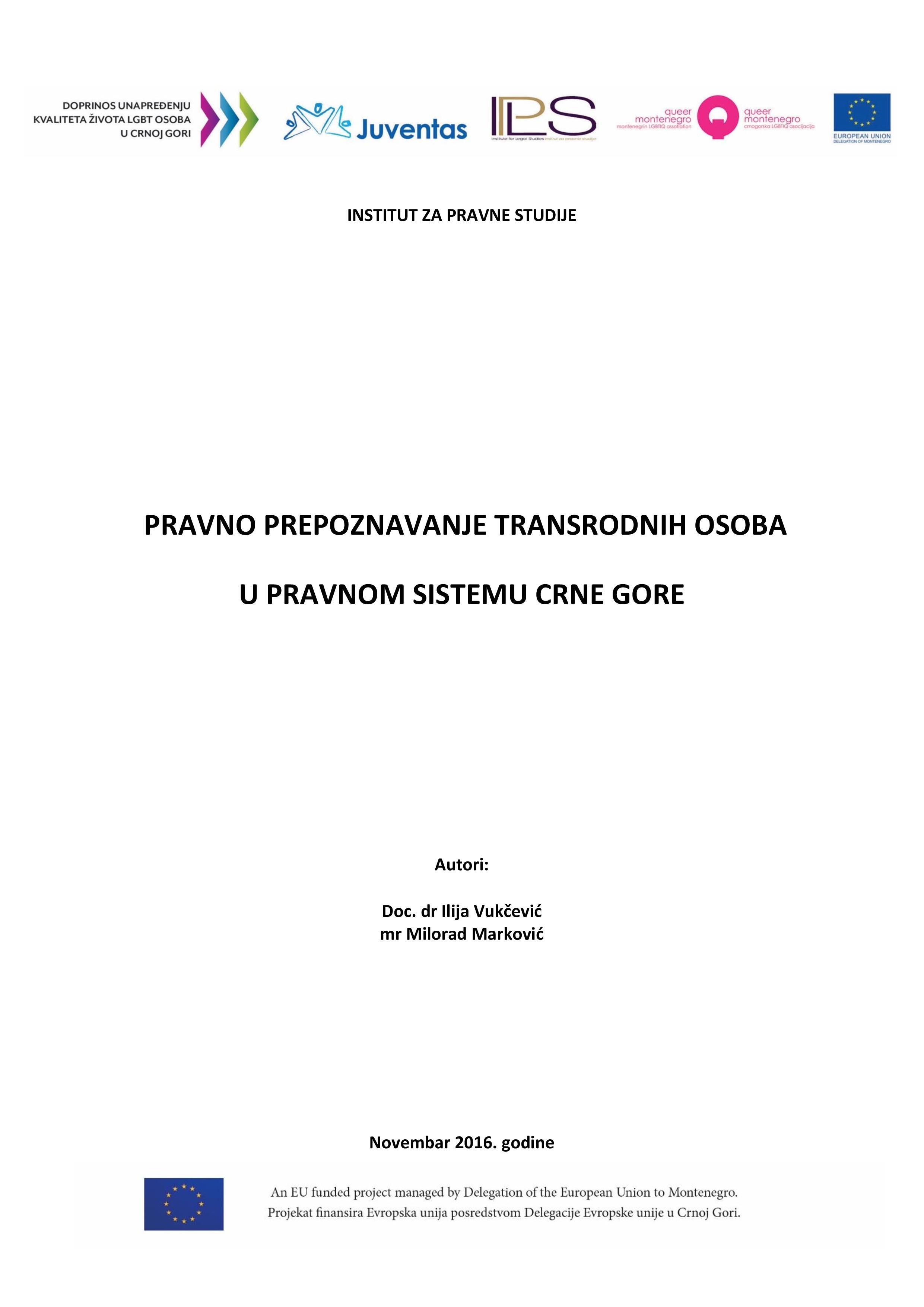 PRAVNO PREPOZNAVANJE TRANSRODNIH OSOBA U PRAVNOM SISTEMU CRNE GORE final-page-001
